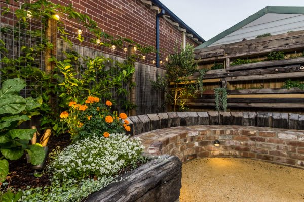 Newcastle landscaping project